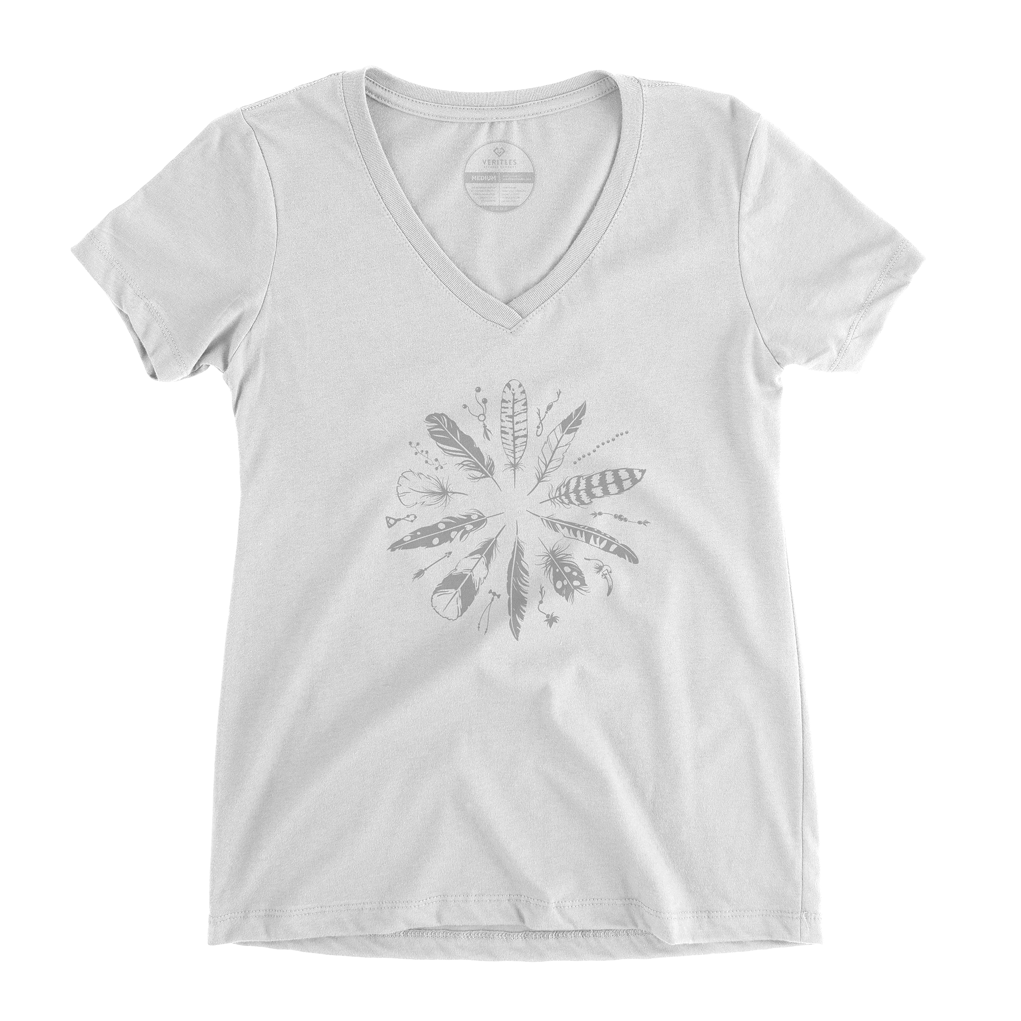 Medicine Shield V-Neck conspiracy t-shirt