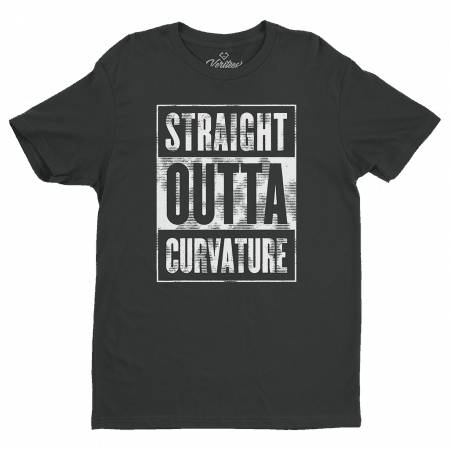 Straight Outta Curvature Tee conspiracy t-shirt