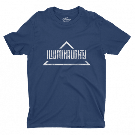 Illuminaughty Tee conspiracy t-shirt